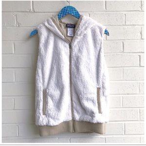 Patagonia Conejo Fleece Hooded Zip Up Vest